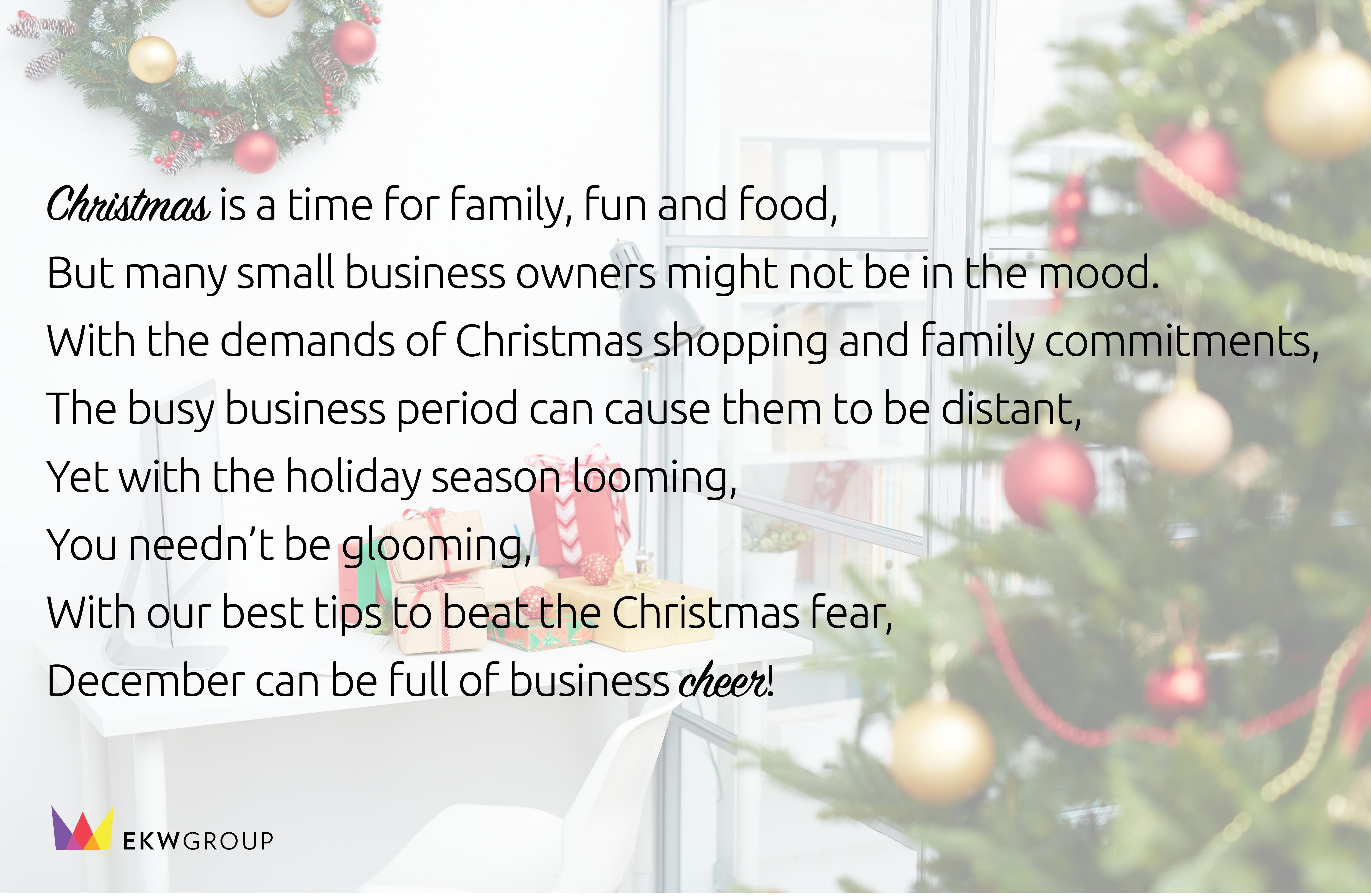 EKW Group-small-business-christmas-tips