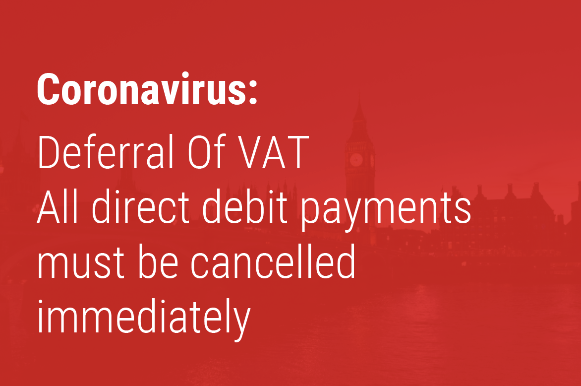 Support for businesses through deferring VAT payments