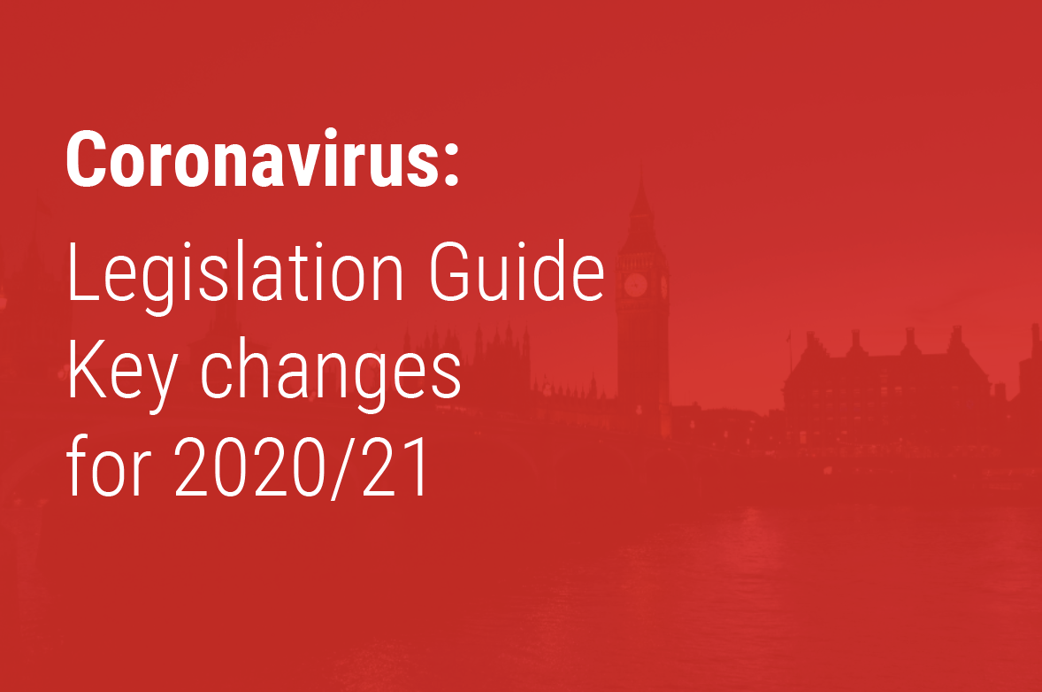 Legislation Guide - Key changes for 2020/21