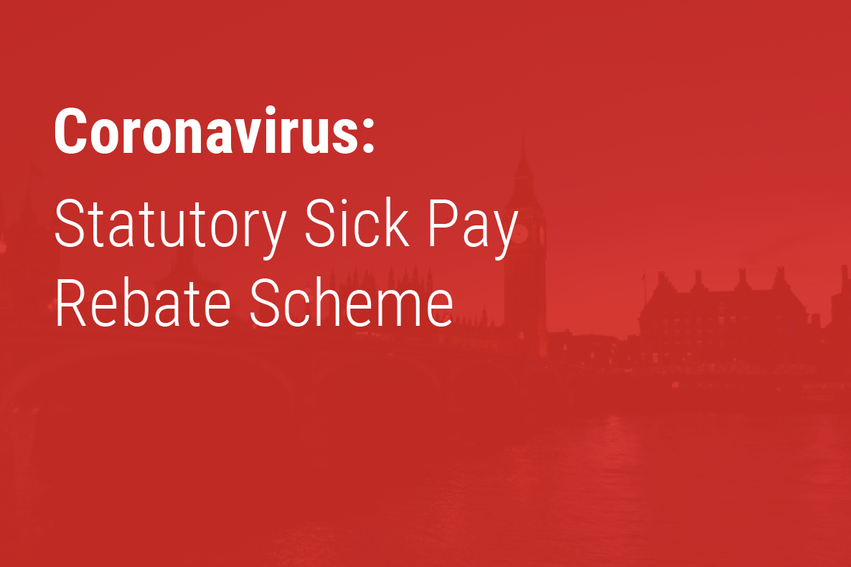 Statutory Sick Pay Rebate Scheme